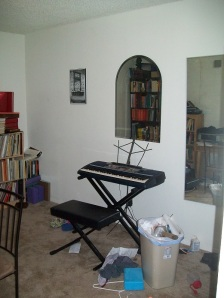 Before Piano wall